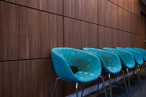 Commercial Photography | Melbourne Photography | Interior image of waiting room chairs