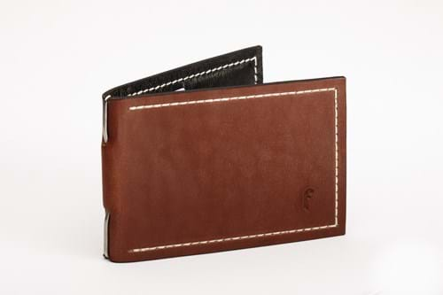 Product Clothing Accessories Photography | Melbourne Photography | Close up of brown leather wallet on white background