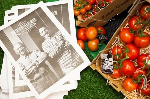 Commercial Photography | Melbourne Photography | Overhead images of tomatoes