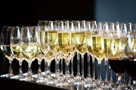Corporate Event Photography | Melbourne Photography | Close up of champagne glasses