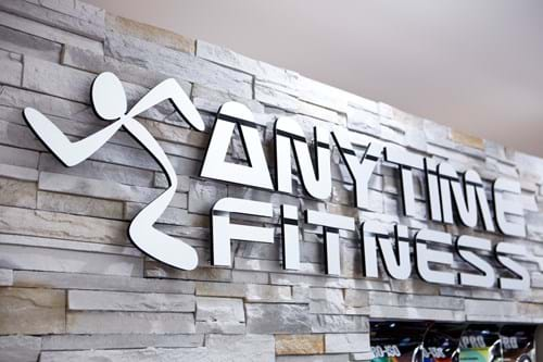 Commercial Photography | Melbourne Photography | Anytime Fitness sign