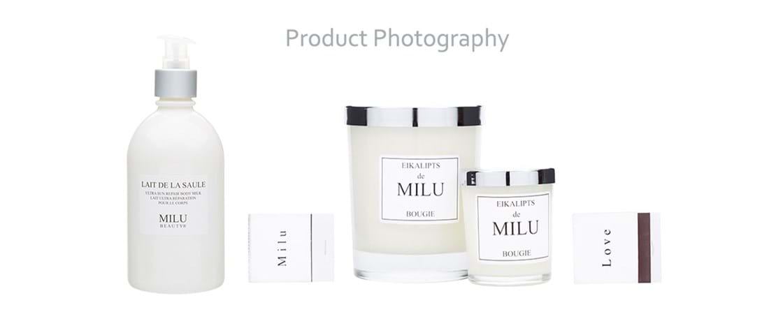 Product Photography Melbourne | Melbourne Photography | Group beauty Milu product image on white background