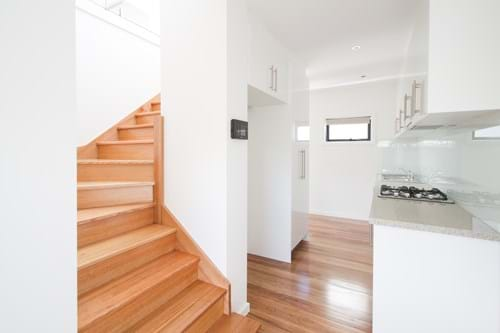 Commercial Photography | Melbourne Photography | Interior of kitchen and stairs