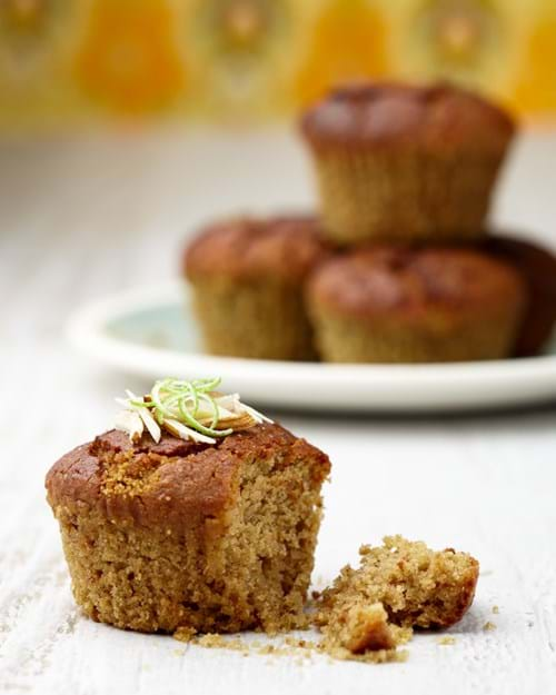 Product Food Photography | Melbourne Photography | Lime and almond muffins