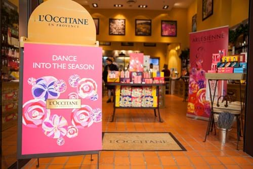 Commercial Photography | Melbourne Photography | Image of interior L'Occitane store