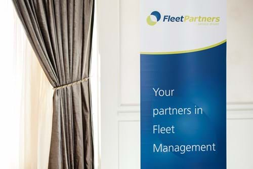 Commercial Photography | Melbourne Photography | Fleet Partners signs at event