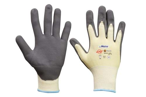 Product Clothing Accessories Photography | Melbourne Photography | Close up of safety gloves on white background