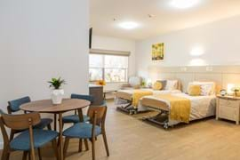 Commercial Photography | Melbourne Photography | Interior image of nursing home