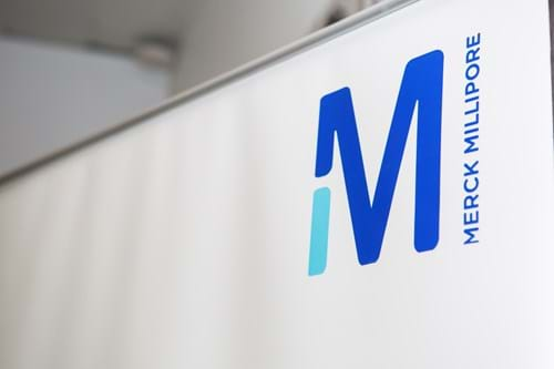 Commercial Photography | Melbourne Photography | Image of Merck business sign
