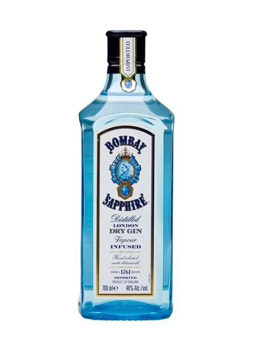 Product Spirits Photography | Melbourne Photography | Bottle of Bombay Sapphire Gin