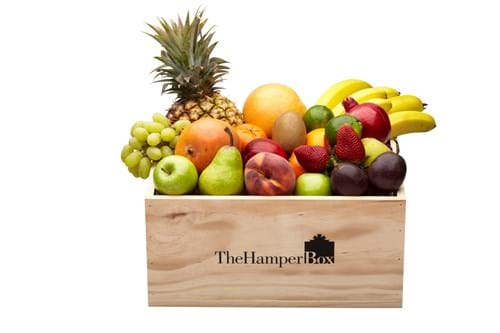 Product Food Photography | Melbourne Photography | Hamper box with fresh fruit