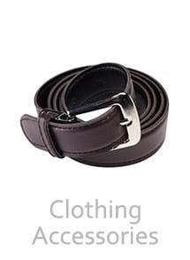 Product Clothing Accessories Photography | Melbourne Photography | Close up of brown leather belt on white background