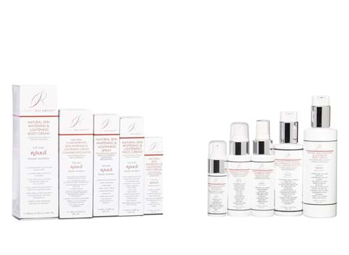 Product Cosmetics Photography | Melbourne Photography | Group shot of Isabel Ricardo skincare creams on white background