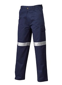 Product Clothing Photography | Melbourne Photography | Ghosted men's blue safety pants on white background
