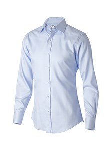 Product Clothing Photography | Melbourne Photography | Ghosted men's blue business shirt on white background