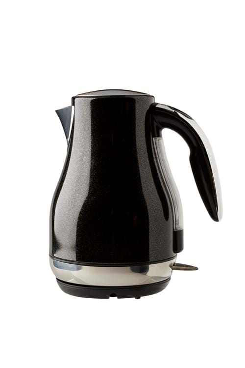Product Homeware Photography | Melbourne Photography | Black electric kettle on white background