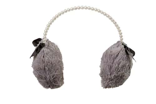 Product Clothing Accessories Photography | Melbourne Photography | Close up of grey earmuffs on white background