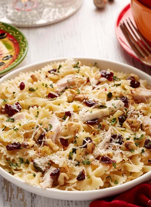 Product Food Photography | Melbourne Photography | Pasta with chicken and cranberries