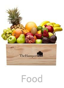 Product Food Photography | Melbourne Photography | Hamper box full of fruit on white background