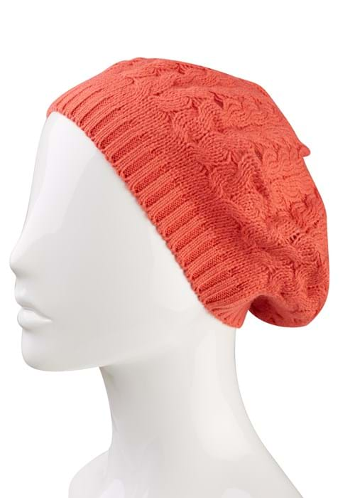 Hats Product Clothing Accessories Photography | Melbourne Photography | Close up of orange beanie on mannequin white background