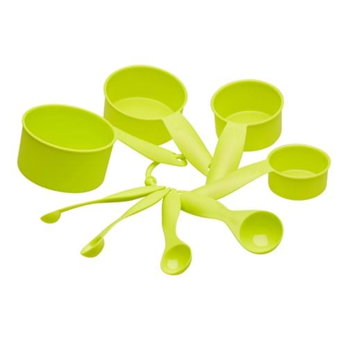 Product Homewares Photography | Melbourne Photography |  Green measuring cups on white background