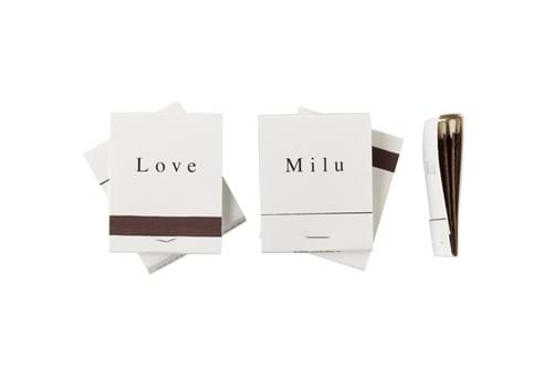 Product Cosmetics Photography | Melbourne Photography | Close up of Milu matches on white background