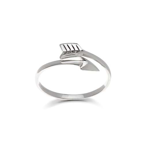 Product Photography Jewellery | Melbourne Photography | Silver arrow ring on white background
