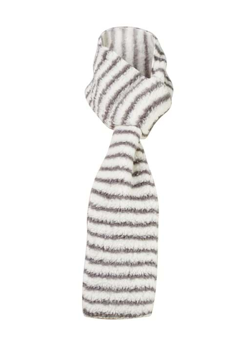 Product Clothing Accessories Photography | Melbourne Photography | Close up of grey and white scarf on background