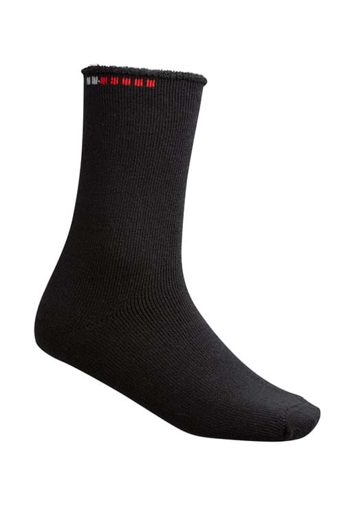 Product Footwear Photography | Melbourne Photography | Mens black sock on white background