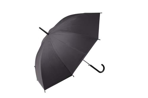 Product Clothing Accessories Photography | Melbourne Photography | Close up of opened black umbrella on white background